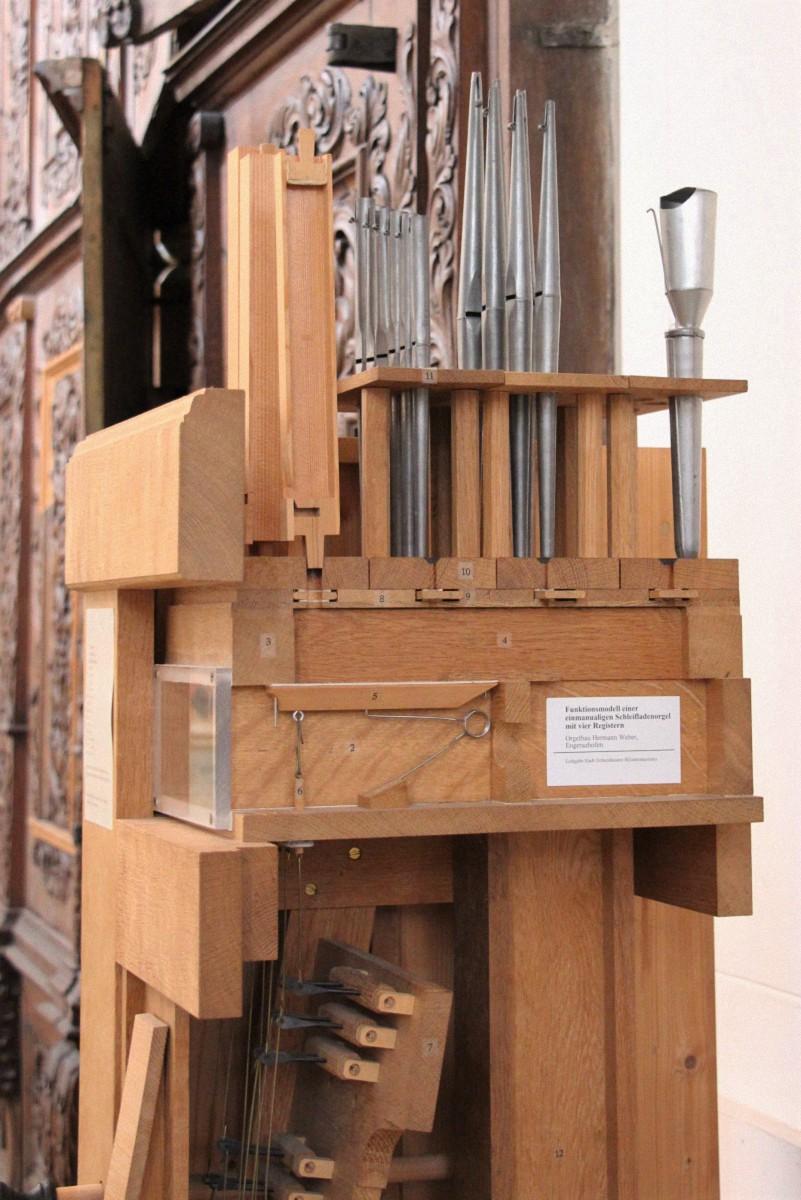 Weber Orgelmodell, Basilika Ochenhausen. Foto: Hans- Peter Wachter, Ochsenhausen