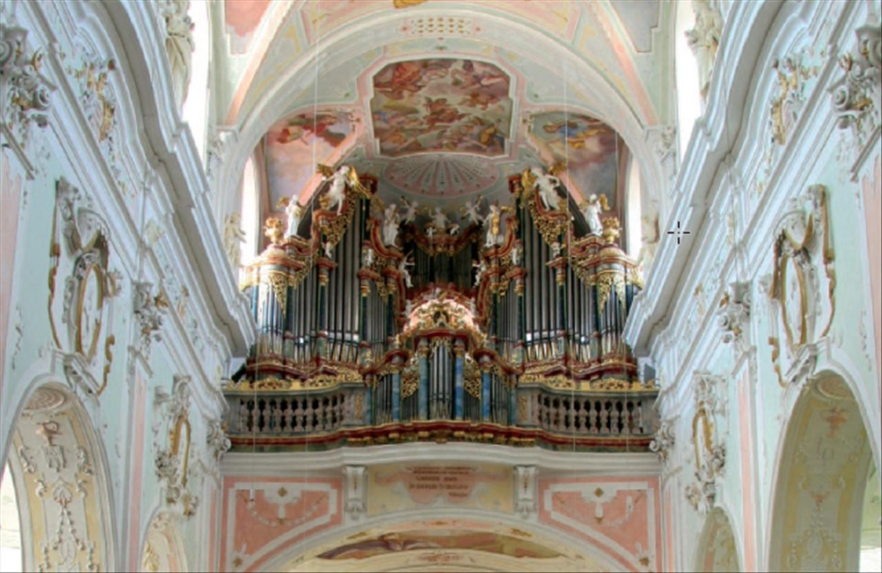Gabler-Orgel Basilika Ochsenhausen, (c) Martin Doering, die-orgelseite.de